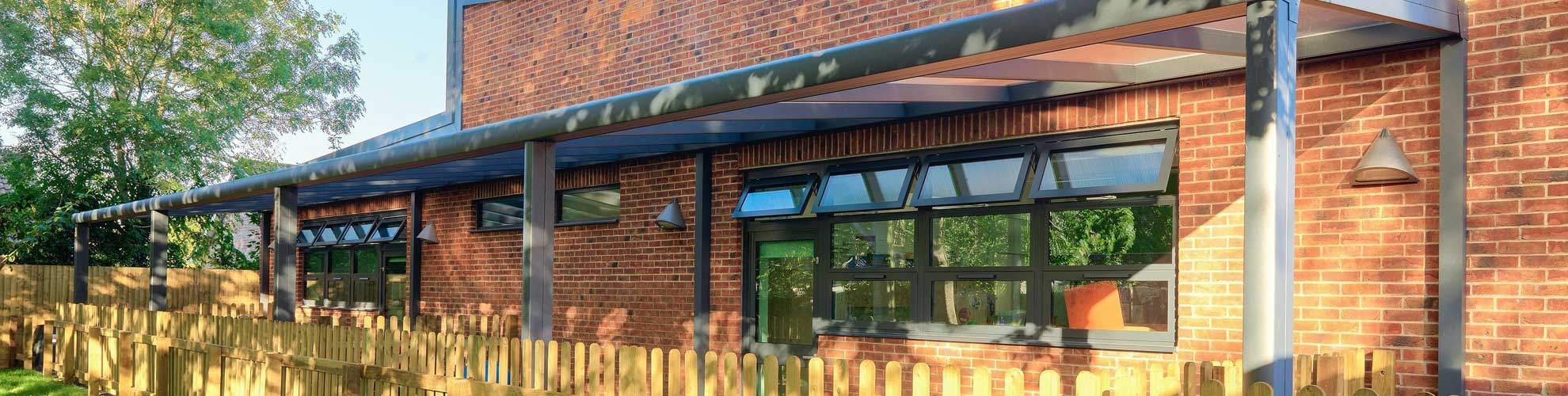 Fixed canopies school canopies and outdoor learning areas & Outdoor and School Canopies | Kensington