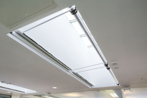 Skylights and atria blinds by Kensington