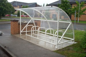 Kensington cycle shelter