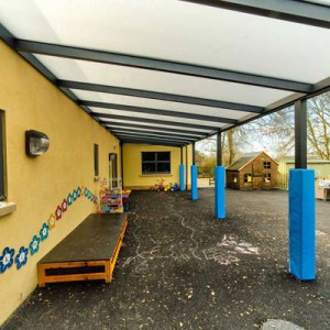 Fixed school canopies