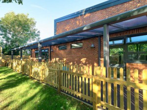 Briarwood School fixed canopy case study