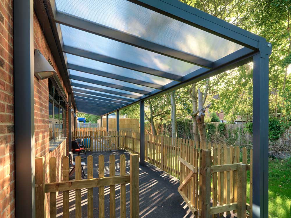 Fixed outdoor canopy & Outdoor and School Canopies | Kensington