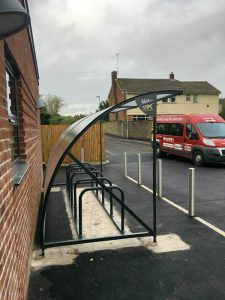 Briarwood School Cycle Shelter case study