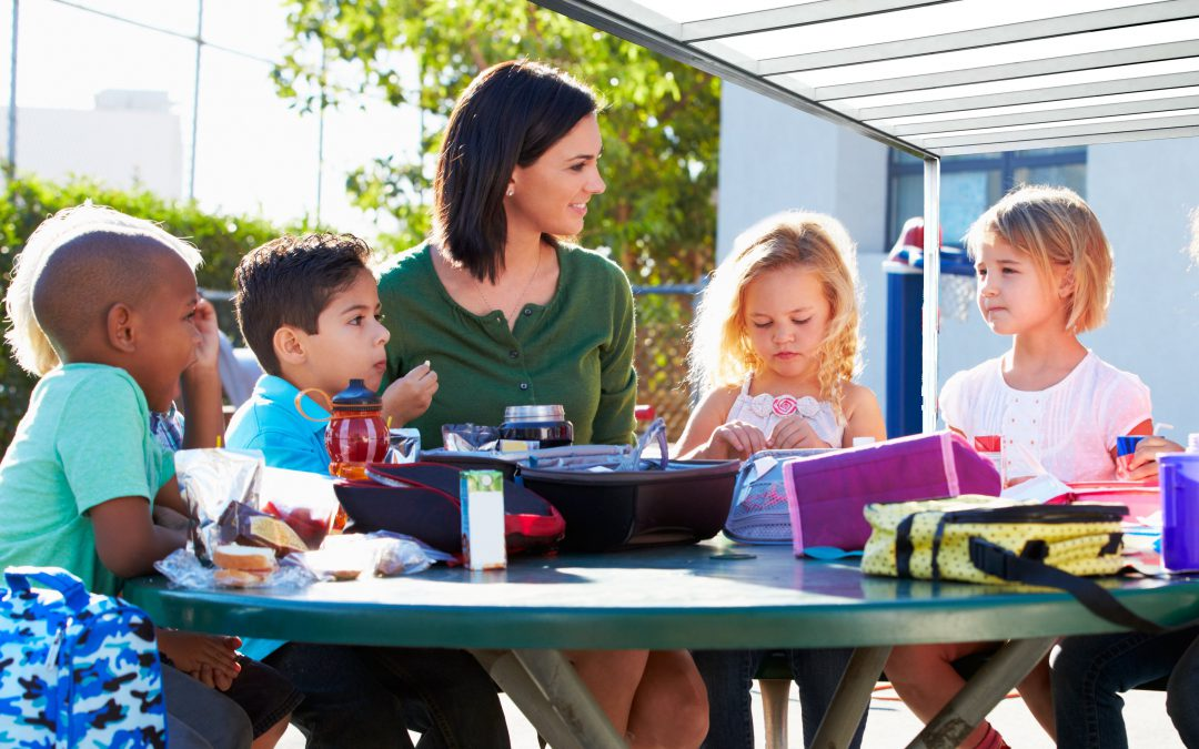 How to leverage the use of School canopies to create more dining space