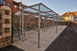 Redfield School cycle shelter