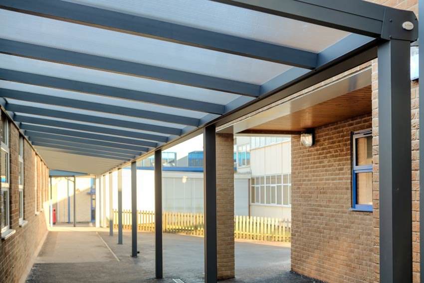 Spaceshade Canopy at Dene Magna School