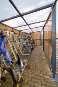 Elk Stockholm Cycle shelter