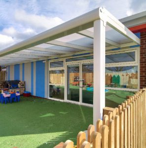 Great Hollands Spaceshade School Canopies