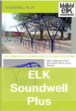 Elk Soundwel Plus cycle shelter thumb