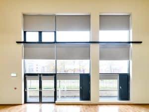 Rolshade 430E Solar powered room darkening blinds