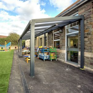 Sea Mills Primary School outdoor learning canopy