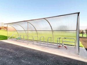 Northgate Primary School Elk Cycle Shelter 1