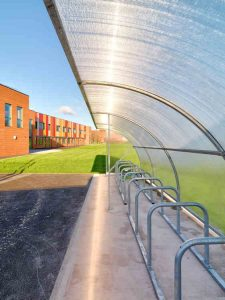 Northgate Primary School Elk Cycle Shelter 4