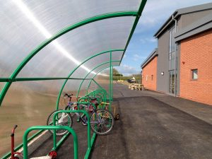Trinity C of E Primary School - Elk Velo cycle shelter
