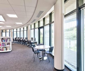 Motorised vertical blinds - Library