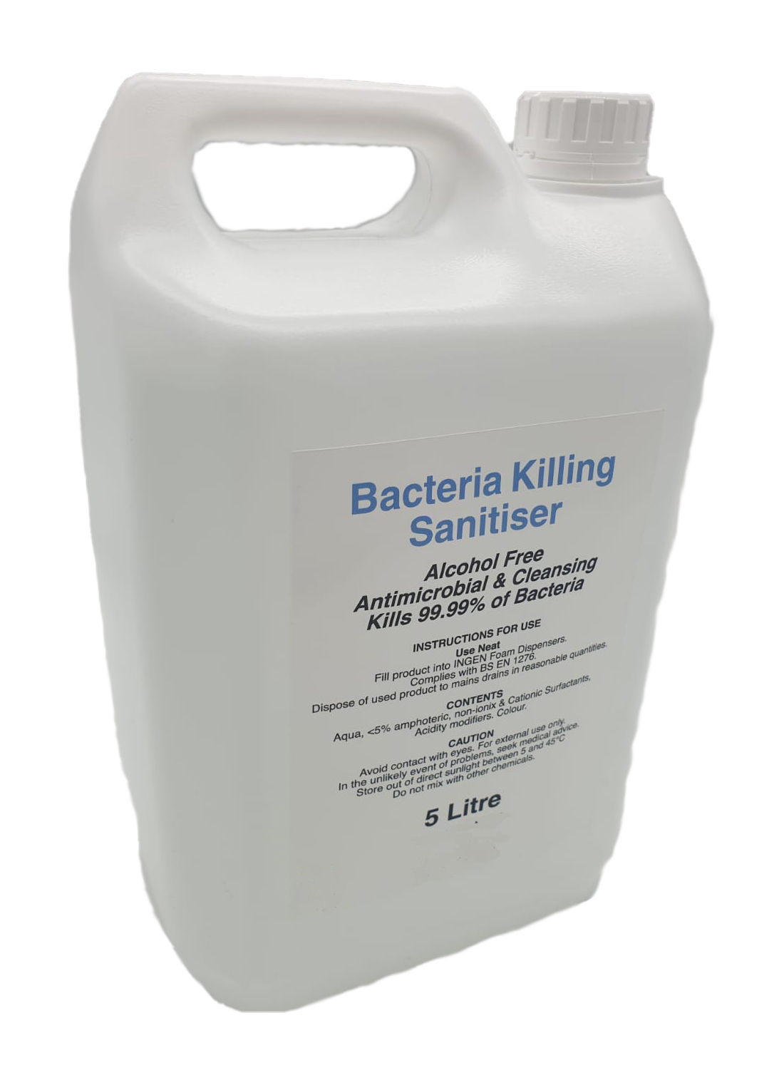 Picture of non-alcohol hand sanitiser