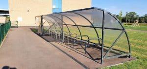 Barton Park Cycle Shelter 2