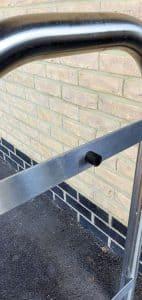 Barton Park Door Hoop Close Up