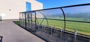 Barton Park Locking Cycle Shelter