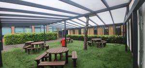 Cotham School Inside the Canopy