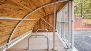Deaf Academy - Cycle Shelter 2