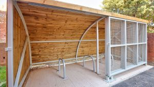 Deaf Academy - Cycle Shelter