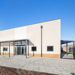 Entrance Canopies for a New Community Centre in Oxfordshire